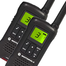 Motorola TLKR-T60 PMR446 Radio Twin-Pack