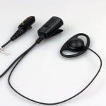 TDP-5200-H2 High Quality D Style earpiece for Hytera digital radios